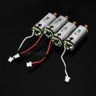 Spare R/C Quadcopter Parts Motors Set for JJR/C H16-09 - Silver