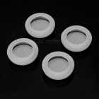 Gamepad Thumb Stick Grips Caps for PS4 - White + Black (4PCS)