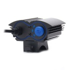 ZHISHUNJIA LT-2T6 2000lm 4-Mode White Bicycle Light / Headlamp - Black