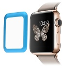 Link Dream 0.2mm Metal Edge Tempered Glass Screen Protector for APPLE WATCH 38mm - Blue