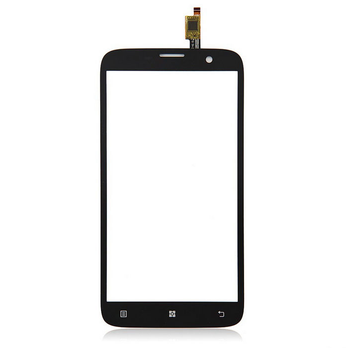 Replacement Mobile Phone Glass Touch Screen for Lenovo A850 - Black