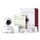 "tiensun 1/4"" CMOS 1.0MP 720P draadloze beveiliging IP camera - wit"