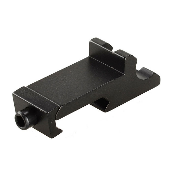 Aluminum Alloy Gun Extension Rail Mount for 20mm Guns - BlackGun Mounts/Rails<br>Form  ColorBlackMaterialAluminum alloyQuantity1 DX.PCM.Model.AttributeModel.UnitGun TypeSuitable for 20mm gunsRail Size20mmMount TypeOthers,N/ARing DiameterN/AOther FeaturesEasy installation.Packing List1 x Gun rail mount 1 x Hex wrench<br>