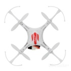 JJRC H8mini sin cabeza 2.4GHz 6-Eje 4CH mini quadcopter - blanco