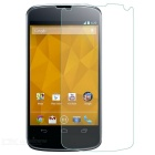 Protective Tempered Glass Screen Protector for Google Nexus 4 - Transparent
