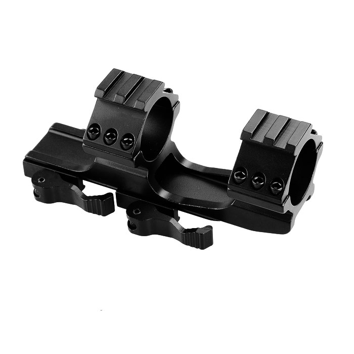 KCLD3001 20mm Quick Release Tactical Gun Guide Rail Mount - Black