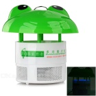Cartoon-Frosch-geformter Foto-Katalyse USB LED Mosquito Trap-Killer - Grün + Weiß