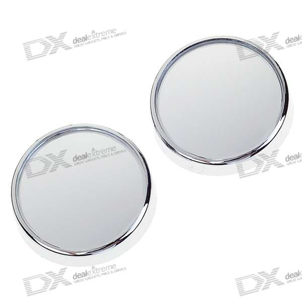 Convex Wide Angle Adjustable Car Blind Spot Mirrors - 40mm (2-Pack)