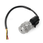 Stainless Steel Variable Pump Water / Air Pressure Sensor - Silver + Black (DC 8~16V)