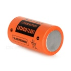 AITELY 3.6V non chargeable ER34615 batterie au lithium - orange + noir