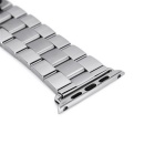 Mini Smile Stainless Steel Watch Band for APPLE WATCH 38mm - Silver