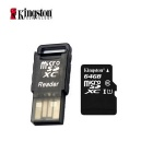 Kingston Class 10 64GB Micro SD / TF Card w/ Card Reader - Black