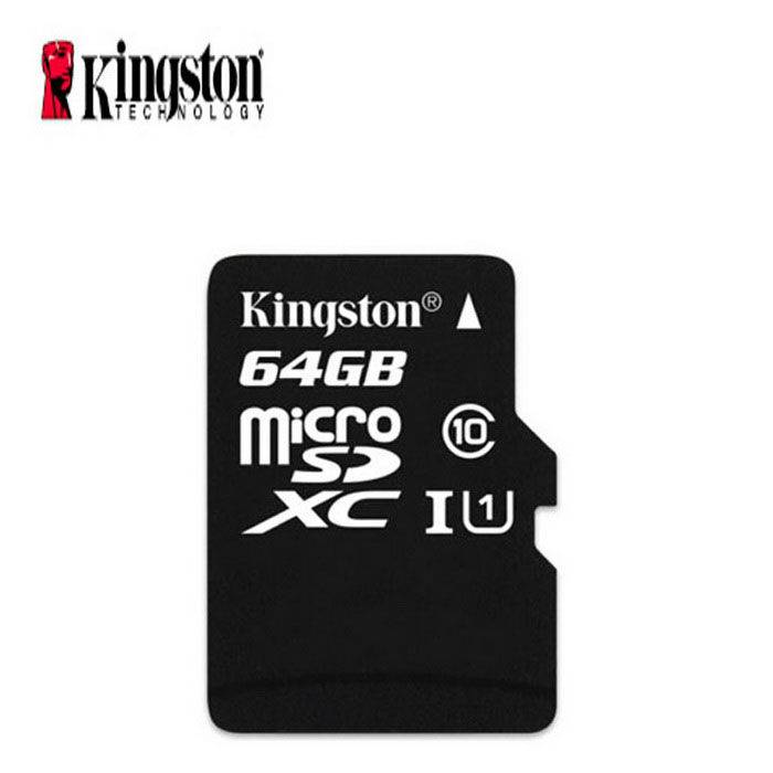 kingston classe 10 64 go carte micro sd tf avec lecteur de carte noir envoie gratuit. Black Bedroom Furniture Sets. Home Design Ideas