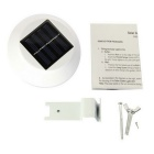 YouOKLight Waterproof LED White Solar Powered Lamp - White (4PCS)