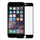 PUDINI 2.5D Anti-Blue-Ray Tempered Glass Screen Protector for IPHONE 6 PLUS - Black + Transparent
