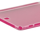 ENKAY 3-Folds Protective PU Case w/ Stand for Samsung T550 - Deep Pink