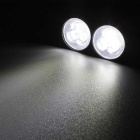 MZ 9W weißes blinkendes 3-LED Auto Tagespositions- / Nebel-Licht (2PCS)