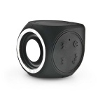 Mini Outdoor IPX7-Waterproof / Dustproof Bluetooth V4.0 + EDR Speaker - Black