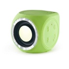 Mini Outdoor IPX7-Waterproof / Dustproof Bluetooth V4.0 + EDR Speaker - Green