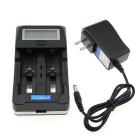 TrustFire TR-011 Multifunctional LCD Display Smart Charger - Black