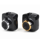 "1.5"" 1080P 170' Wide-Angle Car DVR / IR Night Vision - Black + Silver"