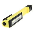 Magnetic Clip-On 6-LED Steady on Working Lamp - Yellow + Black