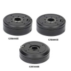 GM6008H+GM6008H+GM7008H Brushless Gimbal Motors Set for DSLR 5D2 / 5D3 Camera - Black