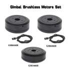 Brushless Gimbal Motors Set for DSLR 5D2 / 5D3 Camera - Black