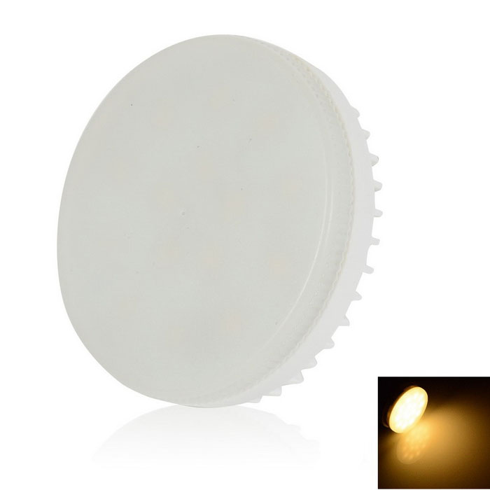 WaLangTing GX53 6W Dimmable Cabinet Spotlight Warm White 250lm - White