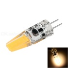 G4 1.5W LED Lamp Warm White Light 3000K 200lm - White + Transparent (12V)