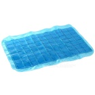 Tianyuan Multi-functional Silicone Cooling Pillow Mat Ice Pad - Blue + White