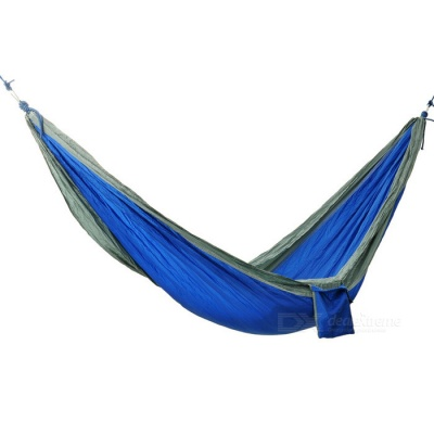 Sunfield Portable Two-Person Nylon Outdoor Hammock - Blue
