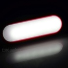 1.2W USB 6-LED Mini Night Lamps White 6450K 70lm - Tangerine (2PCS)