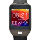 "Rwatch R5 Smart Watch w / 1,6 ""Screen, Bluetooth 4.0 für Android 3.0 und iOS - Schwarz + Iron Grey"