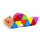 Variety Caterpillar Style Small Wooden Toy - Multi-Color