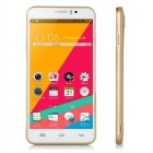 "N750 MTK6572 Dual-Core Android 4.4.3 Smart Phone w/ 5.5"" IPS, 4GB ROM, Dual-Cam - White + Golgen"