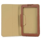 "Bark Texture Protective PU Case Cover for Onda V703 / 701S 7"" - Brown"