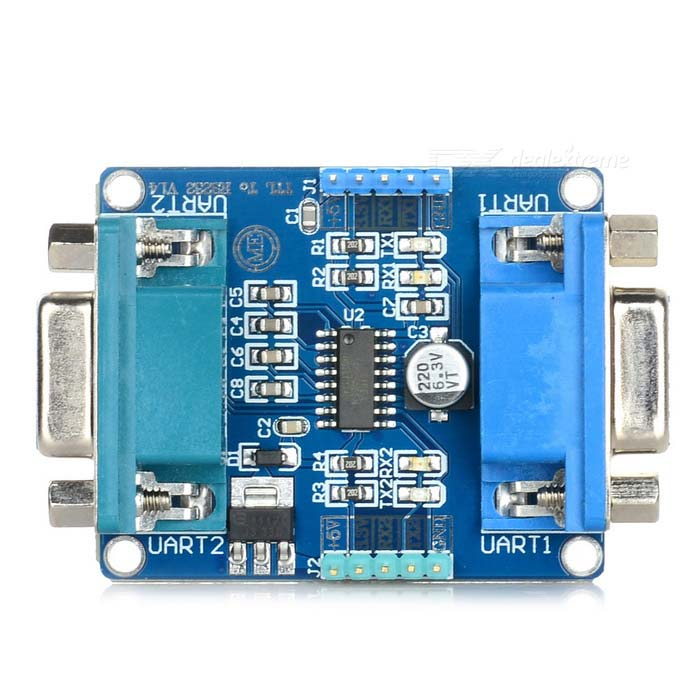 232-TTL 2 x RS232 2 x UART TTL Serial Port moduuli