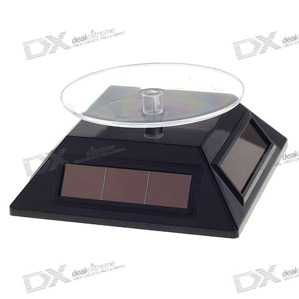 Solar Powered Display Rotary Turntable Turnplate