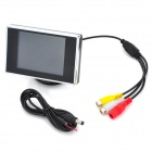 "ET-350 3.5"" TFT LCD Digital Monitor for Vehicles Reverse Camera (NTSC/PAL 12V DC)"