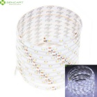 5M 25W 300 x 3528SMD LED White 6000K Waterproof  LED Strip Light Suitable for Vehicles (DC 12V)