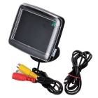 "ET-351 3.5"" TFT LCD Digital Monitor for Vehicles Reverse Camera (NTSC/PAL 12V DC)"