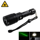 KINFIRE 2-in-1 Green Lase r/ White Light 5mW 532nm Pointer LED Flashlight (1 x 18650 or 3 x AAA )