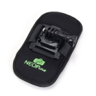 NEOpine Shoulder Strap Mount for GoPro Hero 2 3 4 Xiaomi Xiaoyi- Black