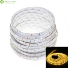 5M 25W Yellow 300 x 3528 SMD LED Waterproof LED Strip Light Suitable for Vehicles DC 12V