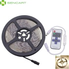 72W caliente blanco 300-LED IP68 Light Strip + controlador de RF - blanco (5m)
