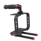 BMCC Camera Photographing Shooting Rabbit Cage Rig Kit - Black + Red