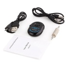 RUITAI Car Bluetooth V4.0 + EDR Audio Handsfree Receiver Mic - Black