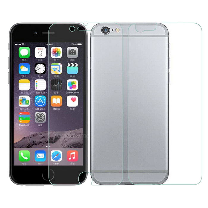 ARM Clear Front + Back Screen Protector for IPHONE 6 - Transparent