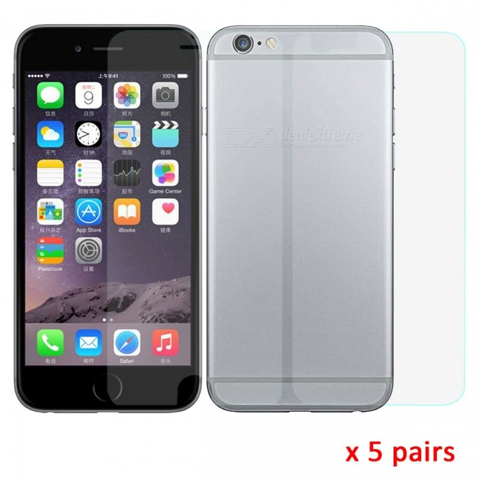 ARM Matte Front + Back Screen Protector for IPHONE 6 - Transparent